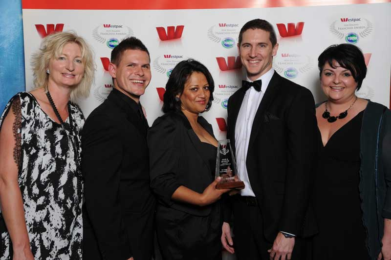 The Coffee Club team took out the Food & Beverage Franchise System of the Year title