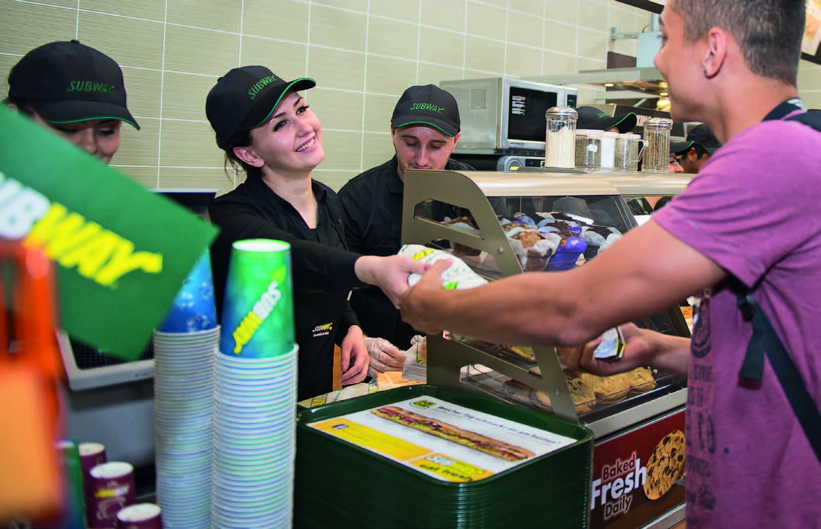 """subway franchise essay What are the advantages and disadvantages of owning a franchise advantages """"owning a franchise allows you to go."""