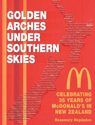 The new book on the history of McDonald's in New Zealand