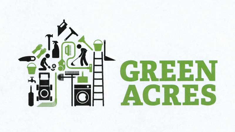The new Green Acres logo