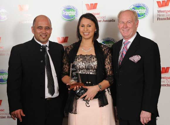 Faisal and Faieka Abrahams of sKids were Lifestyle Services Franchisees of the Year