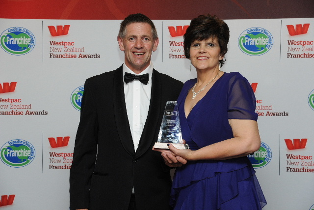 Brent and Mary Lemon from the West Coast are the Lifestyle Services Franchisees of the Year