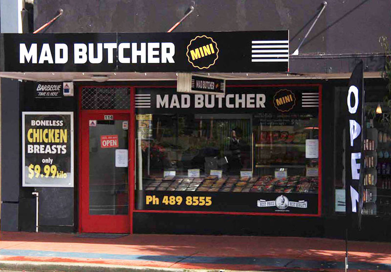 Mad Butcher Opens First Satellite Store Franchise New