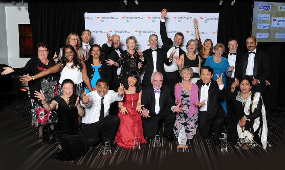 Paramount Services brought a big team to the Franchise Awards and were rewarded with five trophies, including the biggest one of them all - Supreme Franchise System of the Year