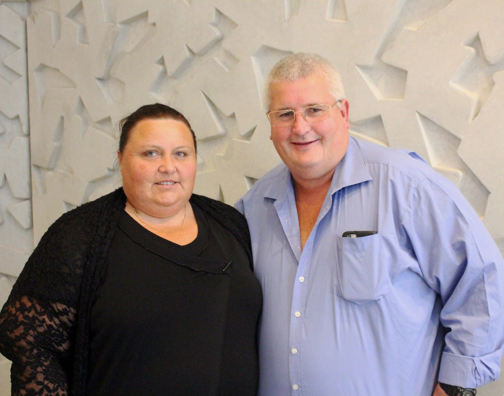 Regional Master Franchisee of the Year: Denise and Graham Clarke, Fastway Couriers Wanganui